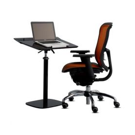 Laptop Desk - Fully Adjustable & Ergonomic in Black