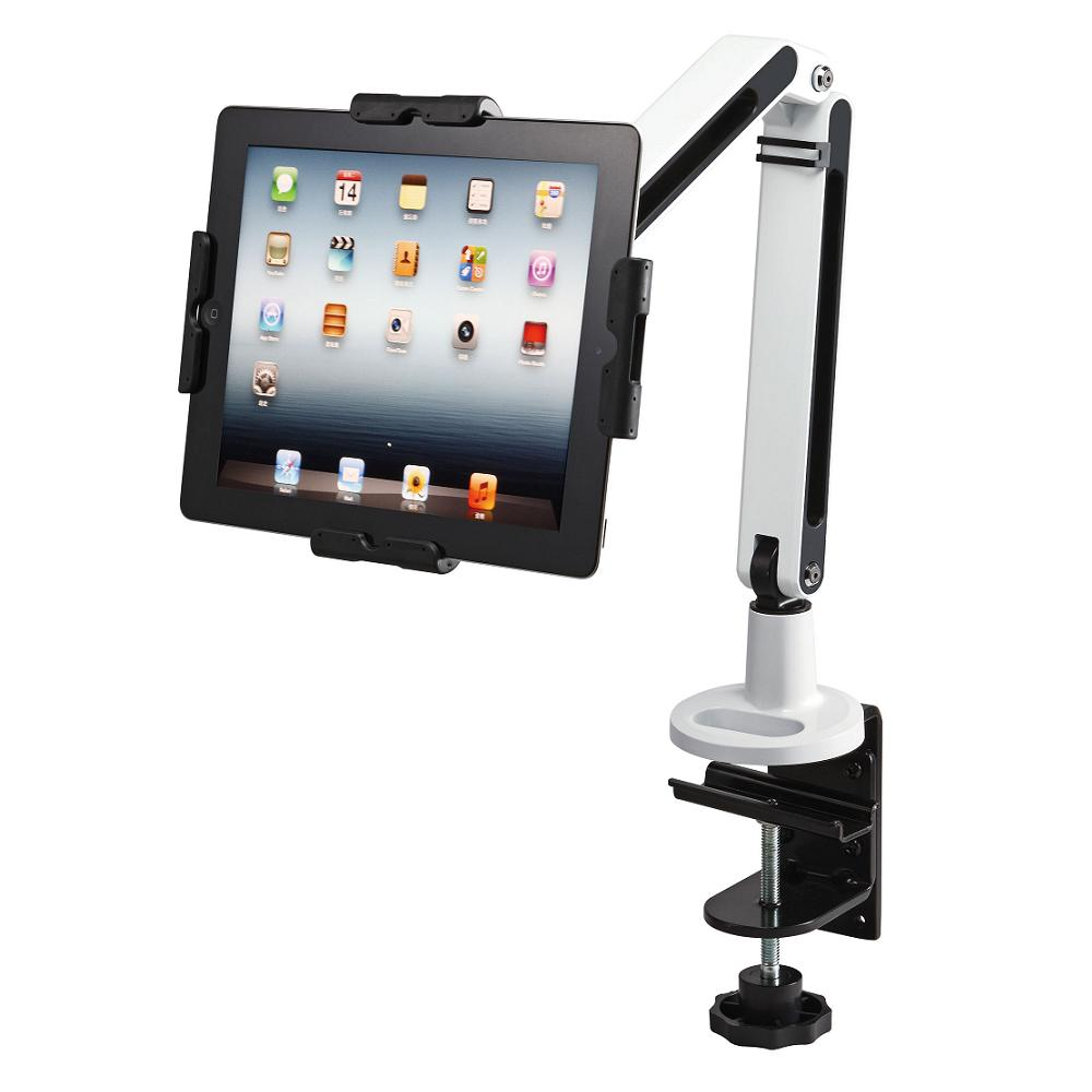Tablet Mount for Desk Clamp w/ Dual Arm