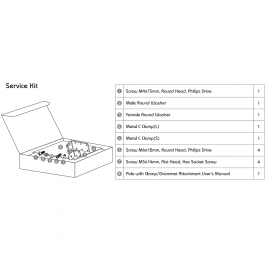 Clamp Base Service Kit for C Series