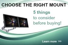 Make sure you choose the right TV or monitor mount - 5 things to consider before buying