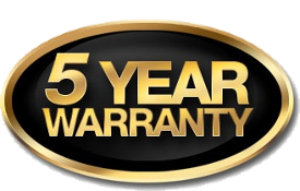 Cotytech Limited 5-Year Warranty